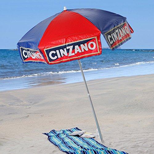 Vinyl Beach Umbrella - 2