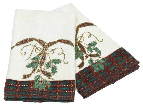 (Lenox Fingertip Towel Set, Holiday Nouveau)