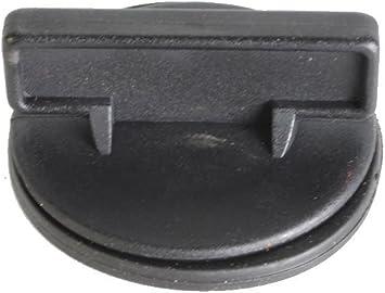Jeep Older Model Motor Oil Filler Cap Black Plastic use on CJ YJ XJ MJ Models with Plastic Valve Cover