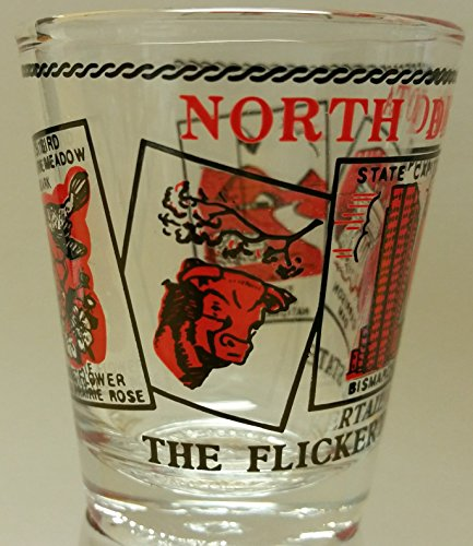 North Dakota Shot Glass - ND Collectible
