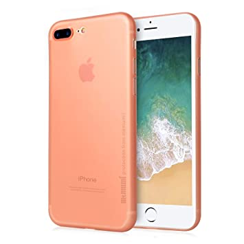 memumi Funda para iPhone 8 Plus, Carcasas Fundas para iPhone 7 Plus, Ultra-Delgado Anti-Rasguño Anti-Estático, Resistente Huellas Dactilares, Ligera ...