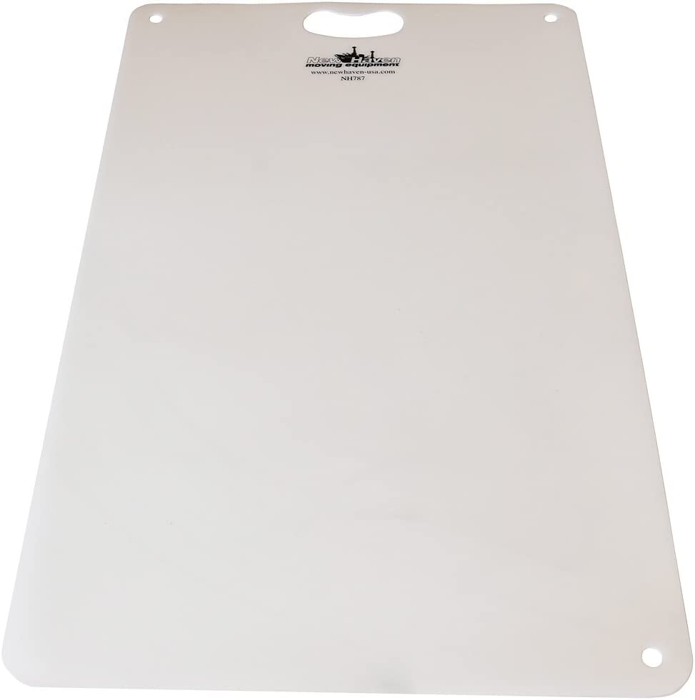 NH787 Premium Scuff Shield: Use What Professionals Use to Move Appliances | Glides Easily, Protects Your Floor | Smooth Edge & Ergonomic Handle | Plastic Appliance Mat