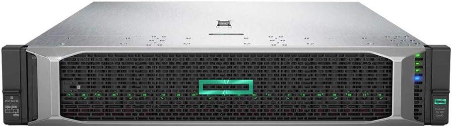 HP ProLiant DL380 Gen 10 Business Server Computer, 2 Intel Silver 4110 8 Core CPUs, 64GB RAM, 7.2TB Enterprise SAS HDDs, RAID