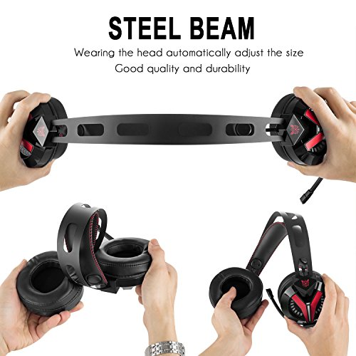51GD8Hz2WZL - Xbox-One-Headset-Onikuma-W-Series-PS4-Headset-Gaming-Headset-with-LED-light-and-Microphone-for-Xbox-PS4-PC-Computer-Laptop-Tablet-Smartphone-and-Other-35MM-Jack-Devices