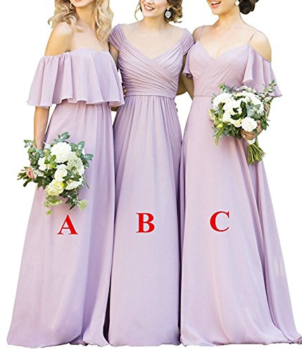 Lilac Wedding Dress - 7