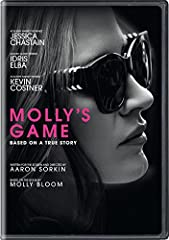 Molly's Game is based on the true story of Molly Bloom, an Olympic-class skier who ran the world's most exclusive high-stakes poker game for a decade before being arrested in the middle of the night by 17 FBI agents wielding automatic weapons...