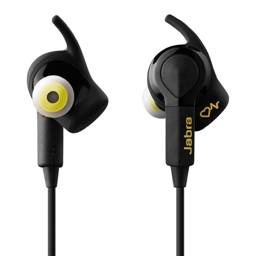 120698838c65bf Jabra Japulse Sport Pulse Auricolari Stereo di Tipo In-Ear, Wireless,  Bluetooth 4.0, Vivavoce, Controllo Vocale in Italiano, Nero: Amazon.it:  Elettronica