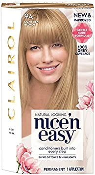 Nice N Easy Tinte de pelo natural Light Ash Blonde 9 A ...