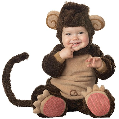 [InCharacter Costumes Baby's Lil' Monkey Costume, Brown/Tan, Large (18-24 Months)] (Baby Costumes For Girls)