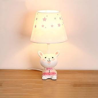 Lámpara de mesa infantil para niños, niños y niñas, dormitorio ...