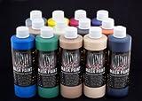 The Monster Makers Latex Mask Paint 13 Color Kit (8oz Bottles)