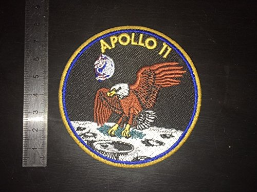 APOLLO 11 ECUSSON PATCHES AUFNAHER TOPPA THERMOCOLLANT