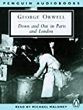 img - for Down and Out in Paris and London (Penguin audiobooks) book / textbook / text book