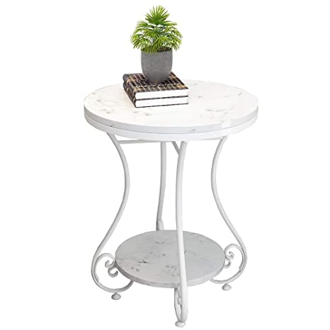 Rond ZHIRONG Niveaux 2 Table Marbre Basse Table D'appoint K3T1lJcF