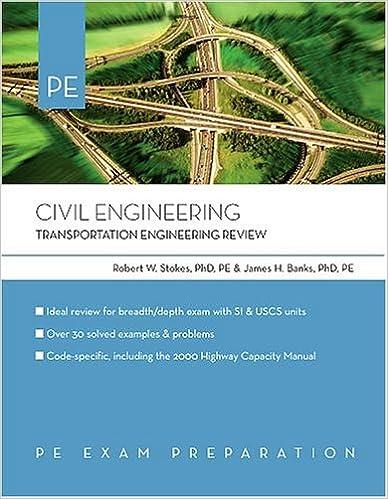 Civil Engineering: Transportation Engineering Review