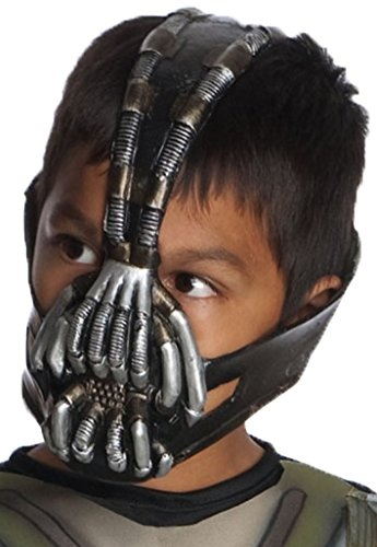 Batman: The Dark Knight Rises: Bane 3/4 Mask, Child Size (Black) ()