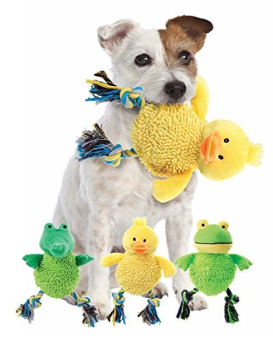 (Etna Products TT Laughing Dog Toy Makes a Fun Chuckling Sound When You Shake It )