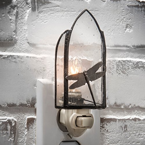 ragonfly Glass Decorative Night Light (Dragonfly Night Light)