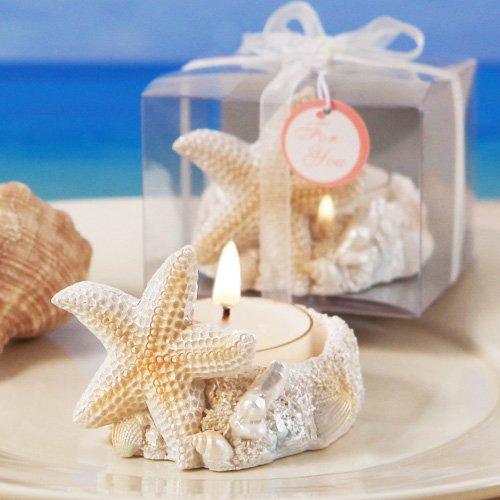 """Treasures of the Sea"" Starfish Candle Holder w/ Tealight..."