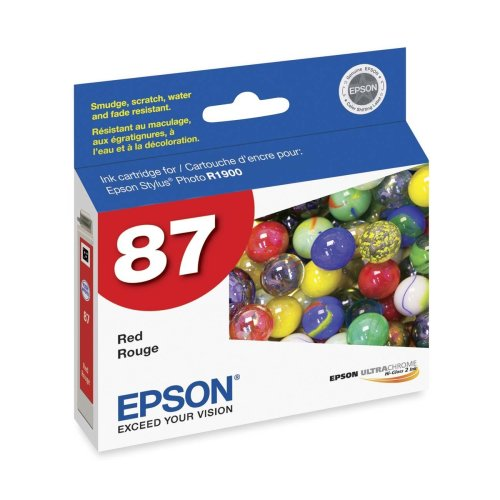 Epson America T087720 Red Ink Cart -
