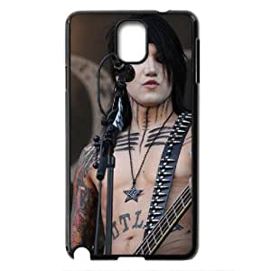 Rock band Black Veil Brides BVB Hard Plastic phone Case Cover For Samsung Galaxy NOTE 3 Case XFZ443533