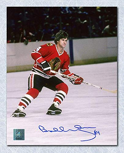 Bobby Orr Autographed Photograph - Chicago Blackhawks NHL Legend 16x20 : GNR COA - Autographed NHL Photos ()