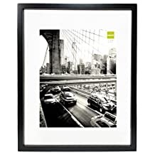 nexxt Suspense Float Picture Frame, 16 by 20-Inch, Black