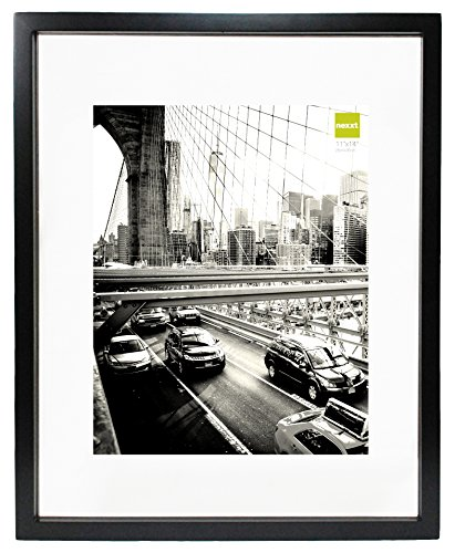 Photo 16x20 Framed (Kiera Grace Suspense Wood Float Picture Frame, 16 by 20-Inch, Black)