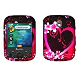 Premium - Pantech TXT8040/Jest Purple Love Cover - Faceplate - Case - Snap On - Perfect Fit Guaranteed