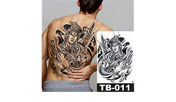 Handaxian 3pcsAngel Cross Wings Big Tattoo Sticker Tatuaje ...