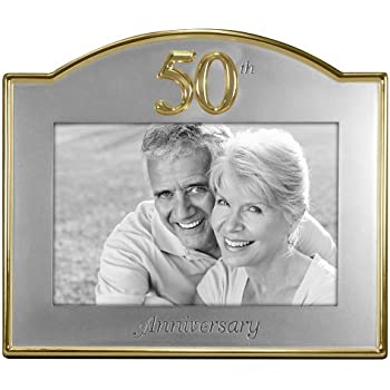 Amazon.com: Malden International Designs Wedding 50th Anniversary ...
