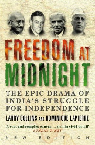freedom at midnight by larry collins and dominique lapierre pdf