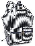 Women Laptop Casual School Backpack Travel Student Bookbag Water Resistant Wide Open Backpack Purse