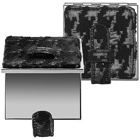 SEPHORA COLLECTION Houndstooth Mirror Silver