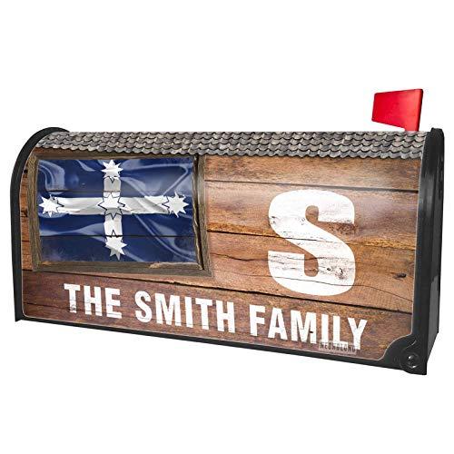 NEONBLOND Custom Mailbox Cover Eureka Stockade 3D Flag
