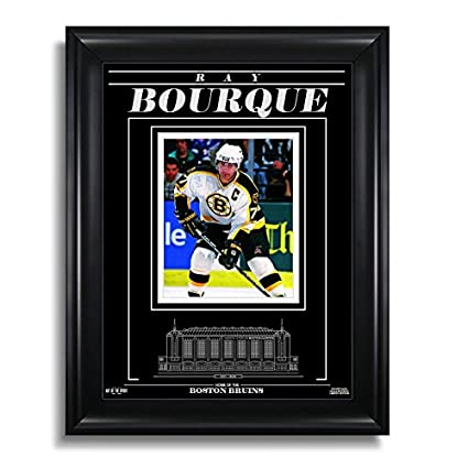 Amazon.com  Ray Bourque Boston Bruins Engraved Framed Photo - Focus ... c1e48677a
