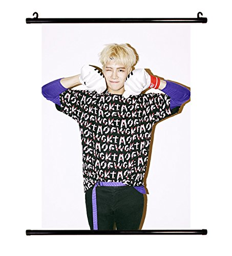 Fanstown GOT7 Just Right wall scroll cloth poster with lomo