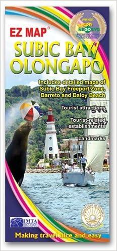 Subic Bay Olongapo Philippines Ez Map 4809011023130 Amazon Com