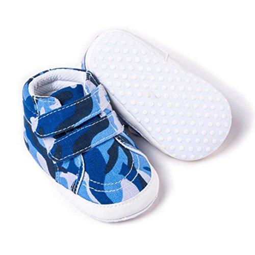 XINXINYU Babyschuhe Leinwand Babyschuhe Kleinkind Schuhe,Neugeborene Kleinkind Baby Kleinkinder Mädchen Boy Camouflage weiche rutschfeste Leinwand Schuhe BU