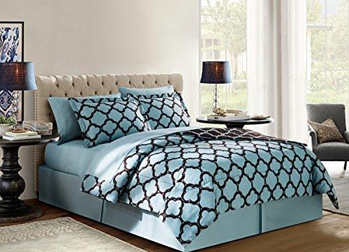 Chocolate Blue Comforters - 1