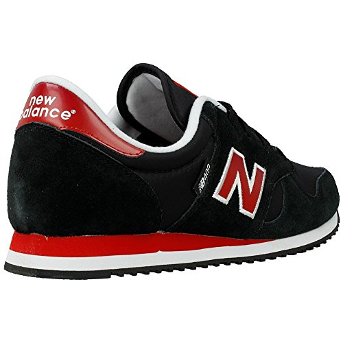 New Balance 400 - Zapatillas unisex Black-Red