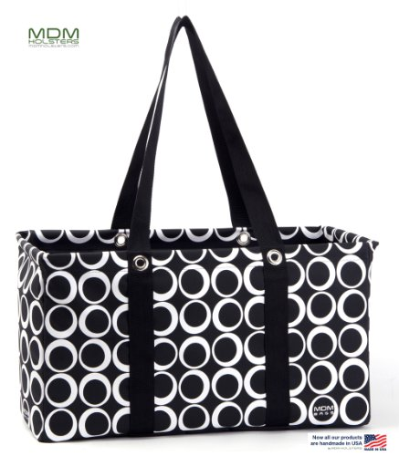 MDM Large Utility Tote Bag, Organizer, Laundry Bag
