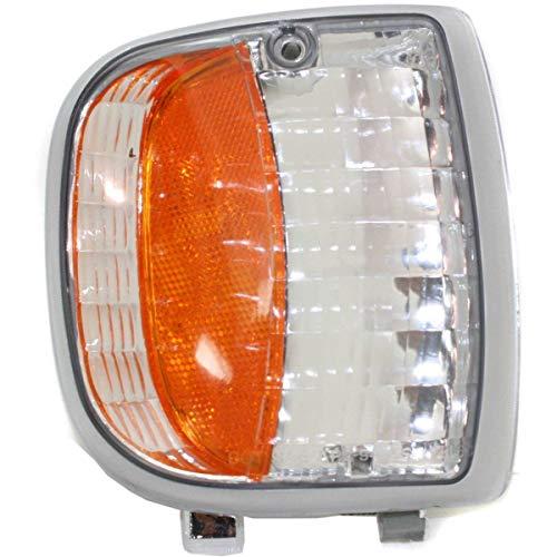 Corner Light For 94-97 Mazda B3000 B4000 Passenger Side Incandescent