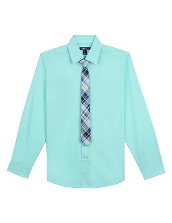 Tops, Shirts & T-shirts Symbol Of The Brand Tommy Hilfiger Original Boys White Dress Shirt Oxford Size L 12-14 Kids' Clothing, Shoes & Accs