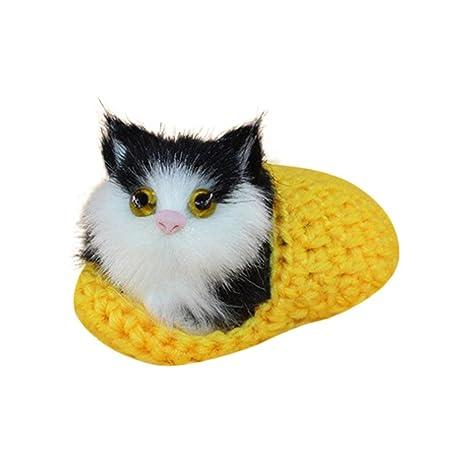 Quadarex - Muñeca de peluche para gato con diseño de animales, ideal como regalo de