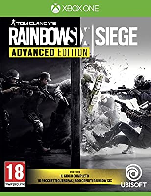 Rainbow Six Siege Advanced - Xbox One [Importación italiana ...
