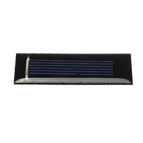 10Pcs 0.5V 100mA 53X18X2.5mMicro Mini Small Power Solar Cells Panel For DIY Toy