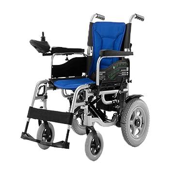 Silla de Ruedas Eléctrica Plegable Automático Inteligente Sistema de Frenos para Personas con Movilidad Reducida y