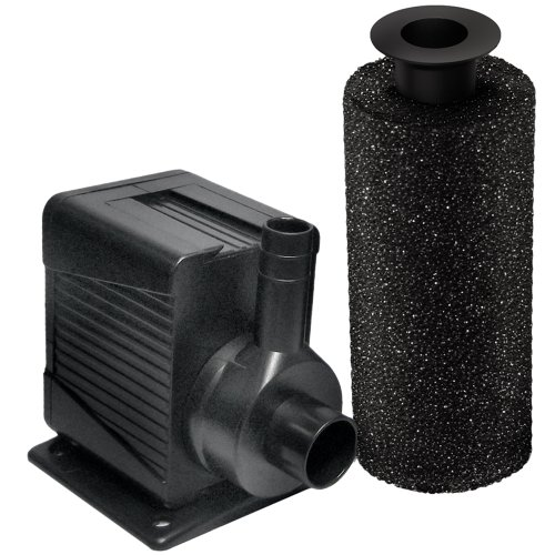 Beckett Corporation Beckett DP400 400 GPH Pump for Ponds and Fountains, Black - Quiet Mag Drive Submersible