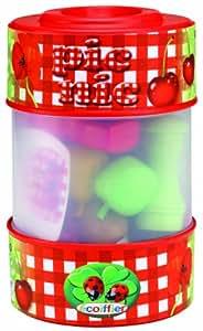 Ecoiffier 500 - Barril transparente con 24 accesorios de picnic